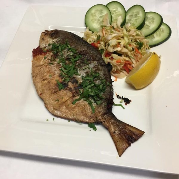 Rechardo Pomfret Fish (with bone)